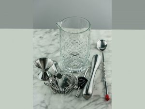 Cocktail Stirring Glass Set