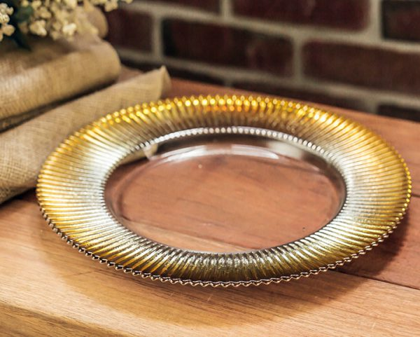 Gold Rim Charger