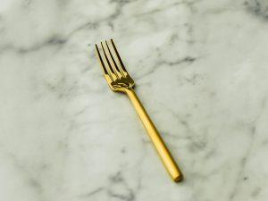 Gold Salad/Dessert Fork