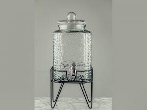 Jar Shaped Beverage Dispenser 1.5gal