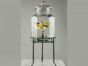 Jar Shaped Beverage Dispenser 1.5gal