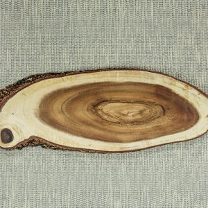 Oval Display Acacia Board