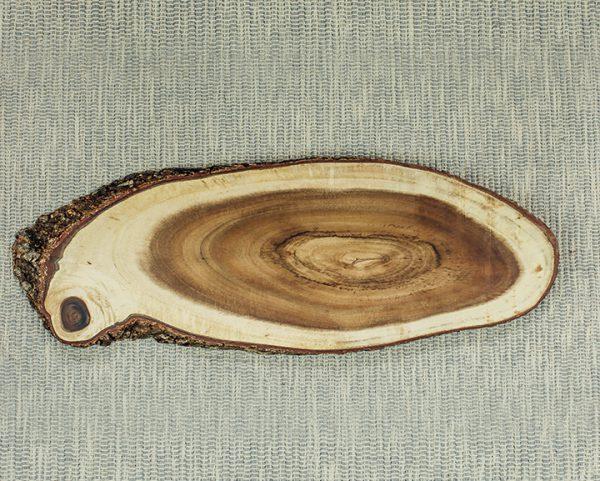 Oval Display Acacia Board