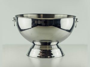 Punch Bowl with Mirror Finish 14-qt