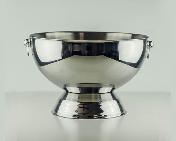 Punch Bowl with Mirror Finish