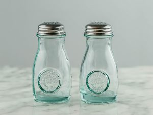 Retro Salt and Pepper Shaker Set