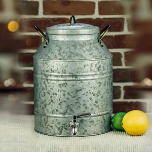 Steel Beverage Dispenser 2.5 Gal