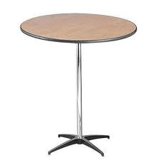 30″ Round Table 30″ Height