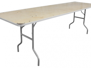 Banquet Table 8′ x 30″ Wide