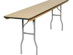 Conference Table Narrow 6″x 18″ Wide