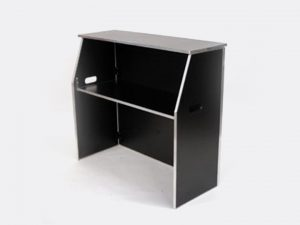 Black Formica Bar 6ft.