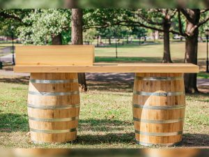 Wine Barrel Bars Comes In 7 Feet