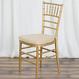 Chiavari Gold Chair beige