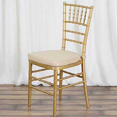 Chiavari Gold Chair beige