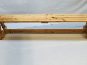 Natural Wooden Bench 6ft