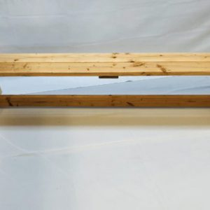 Natural Wood Bench 6ft