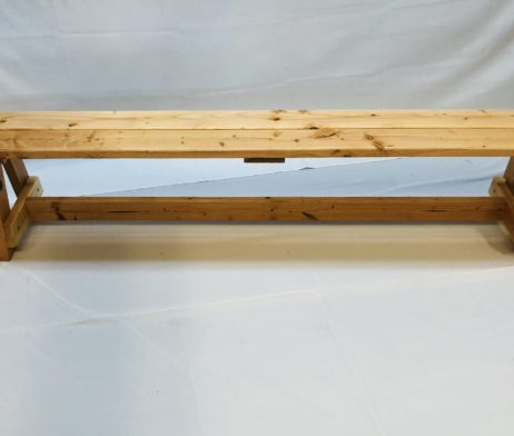 Natural Wood Bench 6ft