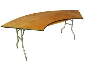 Serpentine Table 5'5″x30″ x 6.75'x30″