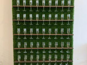 Champagne Grass Wall